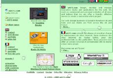 art71.com screen shot in 2005