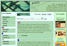 art71.com screen shot in 2006