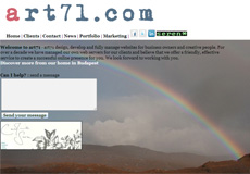 art71.com screen shot in 2012